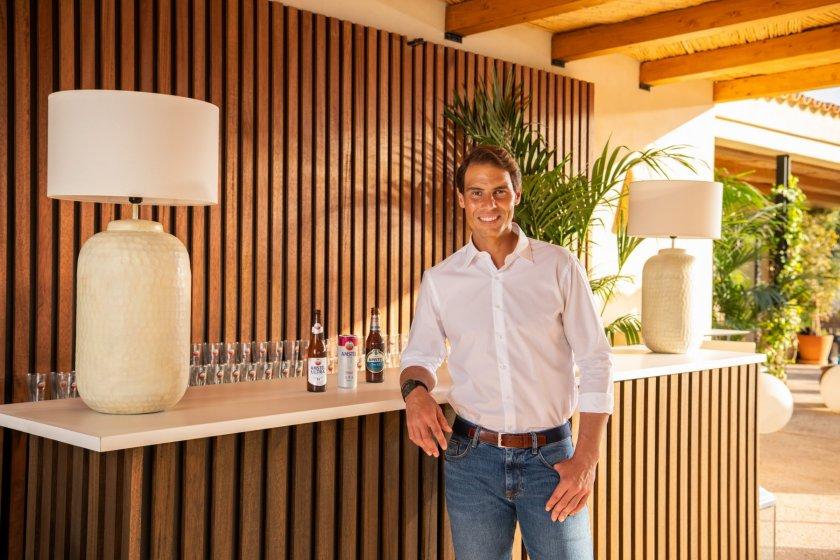 Amstel обяви глобално партньорство с тенис звездата Рафаел Надал