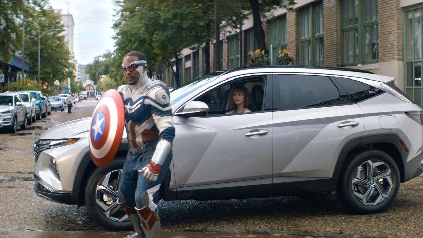 Герои от киновселената на Marvel в новата кампания на Hyundai Tuscon 2022