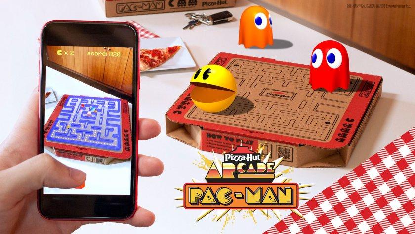 Pizza Hut представя лимитирана серия кутии с AR версия на популярната игра PAC MAN