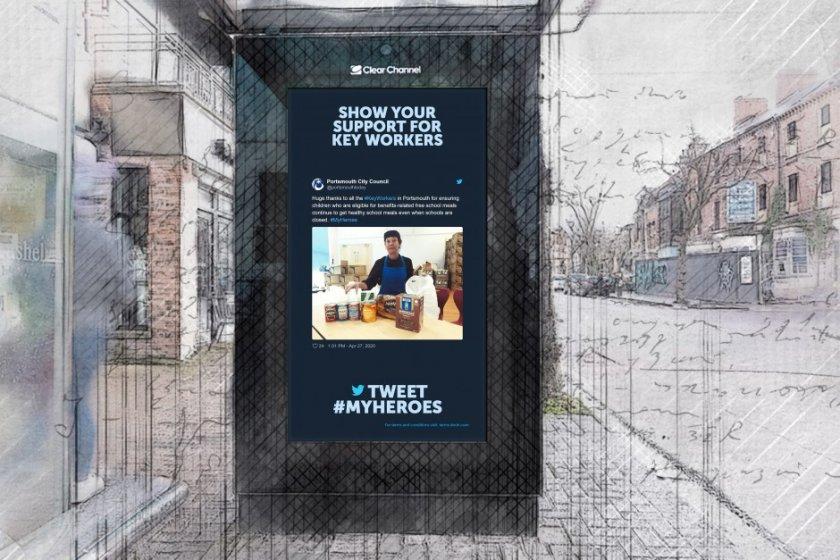 Пет добри примера за външна реклама 2020 – добри дела, QR кодове и 5G