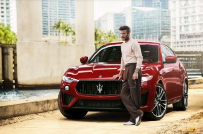 Дейвид Бекъм е новия глобален посланик на Maserati