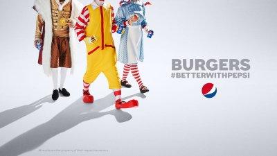 Защо феновете на бургерите предпочитат Pepsi?