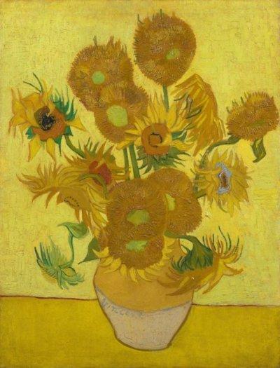 """Как миришат """"Слънчогледите"""" на Ван Гог"""