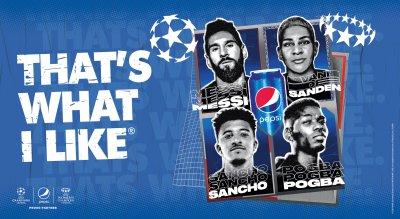 Pepsi представя нова глобална кампания със звезди от футбола и музиката