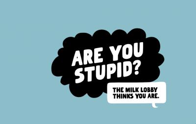 """""""Глупави ли сте?"""" пита марката овесено мляко Oatly"""