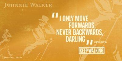 Стартира нова кампания Keep Walking на Johnnie Walker