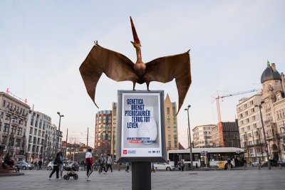 Бъдещето оживява във външна реклама с добавена реалност на Университета на Антверпен