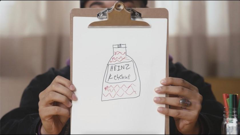 Как бихте нарисували кетчуп?