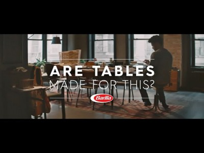 Barilla възхвалява масите с новата си реклама