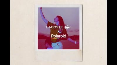 Lacoste и Polaroid с носталгична колекция и кампания в стила на 70-те